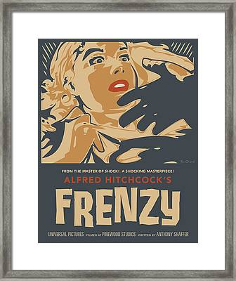 Frenzy - Thriller Noir Framed Print by Bill ONeil