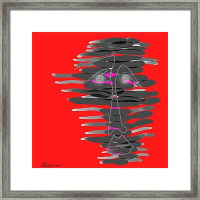 Frenzy Framed Print