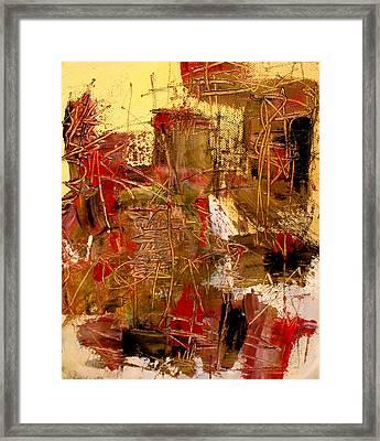 Frequency Framed Print by Jody Scott Olson