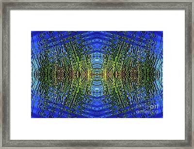 Frequency Framed Print