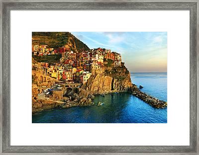 Fresco Framed Print