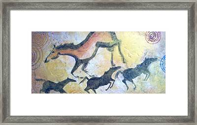 Fresco Framed Print by Lelia DeMello