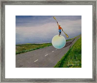 Fresh Air Framed Print by Ushangi Kumelashvili