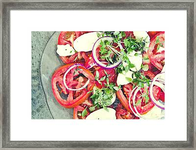 Fresh And Aromatic Framed Print
