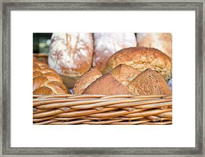 Fresh Bread Framed Print