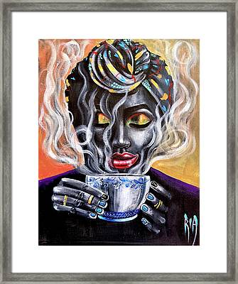Fresh Brewed Framed Print