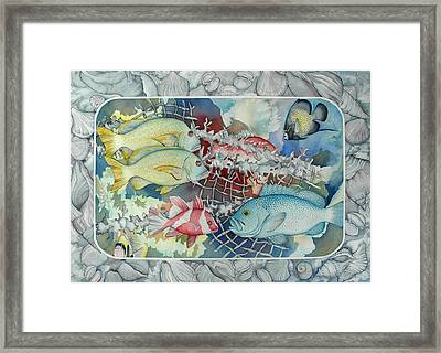 Fresh Catch Framed Print by Liduine Bekman