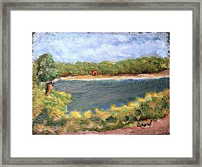 Fresh Creek Framed Print