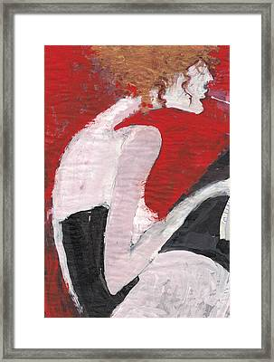 Framed Print featuring the painting Fresh Flesh by Maya Manolova