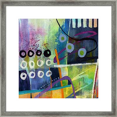 Fresh Jazz In A Square 2 Framed Print by Hailey E Herrera