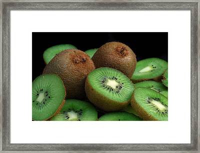 Fresh Kiwi Framed Print