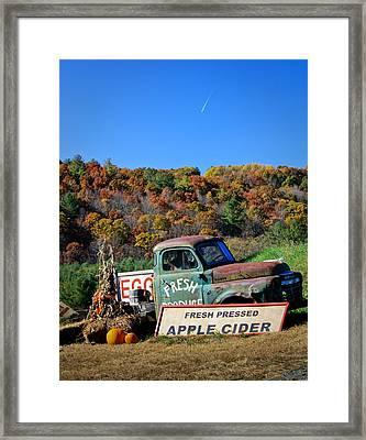 Fresh Mountain Produce Framed Print by Teresa Mucha