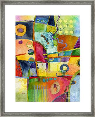 Fresh Paint Framed Print by Hailey E Herrera