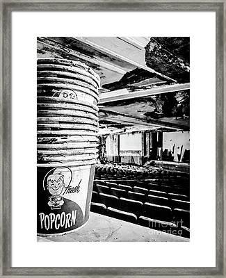 Fresh Popcorn Framed Print by JMerrickMedia