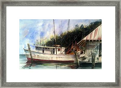 Fresh Shrimp Alabama Framed Print by Don F  Bradford
