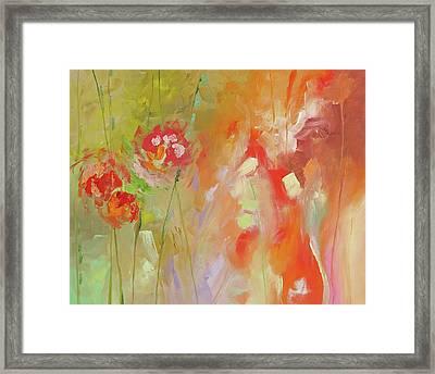 Fresh Start Framed Print by Linda Monfort