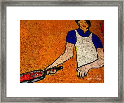 Fresh Today By Michael Fitzpatrick Framed Print by Mexicolors Art Photography