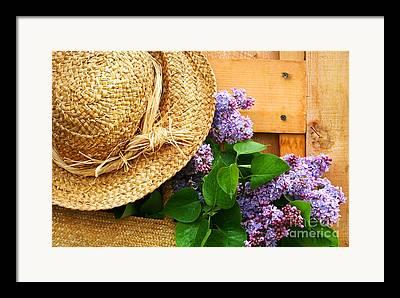 Gardening Digital Art Framed Prints