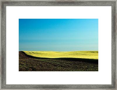 Freshly Plowed Framed Print by Todd Klassy