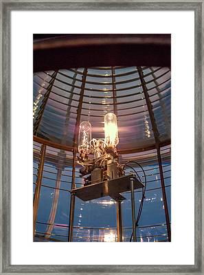 Fresnel Lens Framed Print