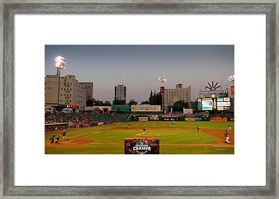 Fresno Grizzlies Framed Print