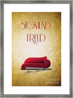 Freud Framed Print by Binka Kirova