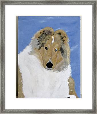 Frey Framed Print by Wendy Jackson