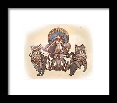 Celtic Mythology Framed Prints