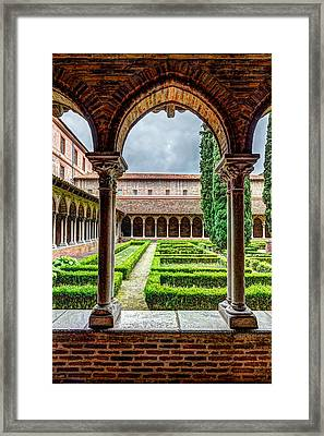 Friary Insde Eglise Des Jacobins Or Church Of The Jacobins Framed Print