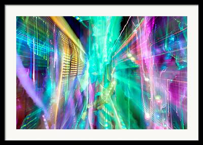 Abstract Fusion Framed Prints