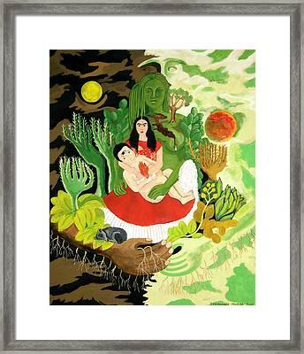 Frida And Diego Framed Print by Stephanie Moore