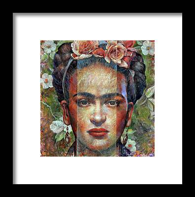 Frida Framed Prints