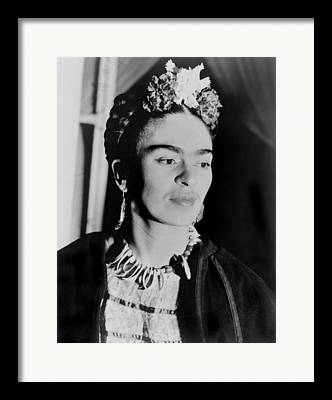 Unibrow Framed Prints