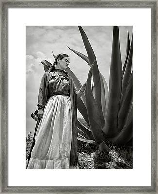 Frida Kahlo 1937 Framed Print