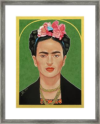 Frida Kahlo Framed Print by Jovana Kolic