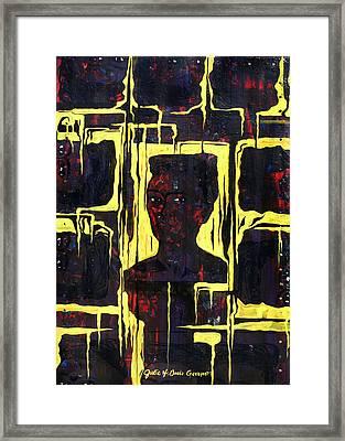 Frida - La Luz Framed Print