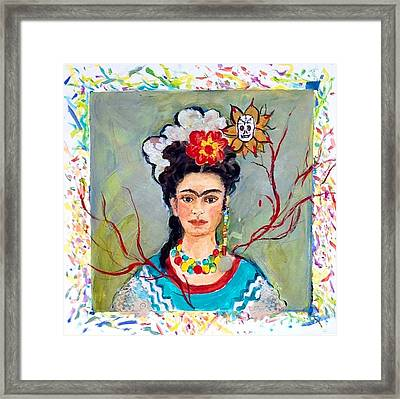 Fridamania Framed Print