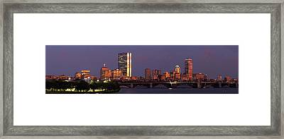 Friday Night Lights Framed Print by Juergen Roth