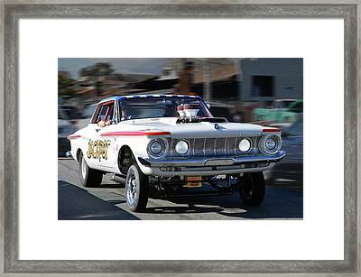 Friday Nite Jackpot  Framed Print by Bill Dutting
