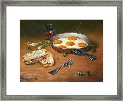 Fried Eggs Framed Print