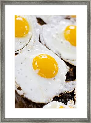 Fried Eggs Framed Print by Jorgo Photography - Wall Art Gallery