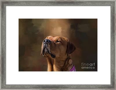 Frieda Framed Print by Eva Lechner