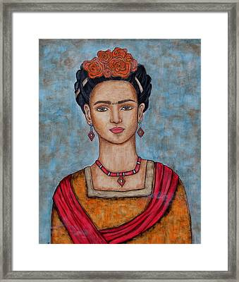 Frieda Kahlo Framed Print
