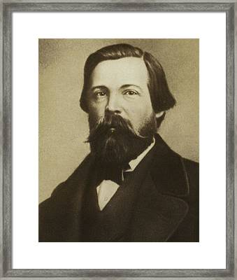 Friedrich Engels Framed Print by German School