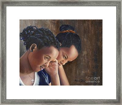 Friend A Life's Blessing Framed Print by Marcia Davis