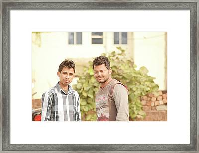 Friend Framed Print by Manish Mandal
