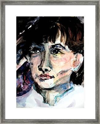 Friend Framed Print by Mindy Newman