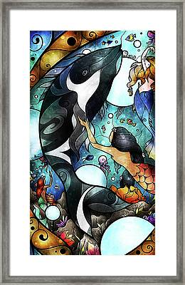 Friend Of The Maidens Framed Print