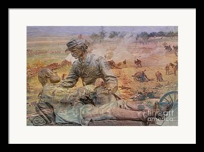Soldiers National Cemetery Digital Art Framed Prints