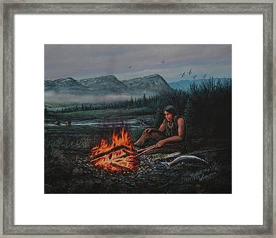 Friendly Fire Framed Print
